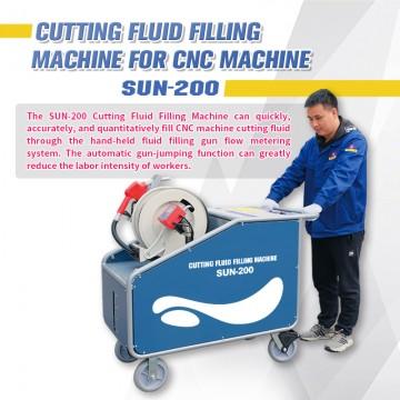SFX SUN-200 Cutting Fluid Filling Machine for CNC Machine