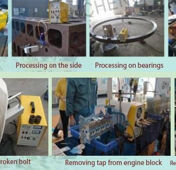 Εφαρμογή της EDM μηχάνημα