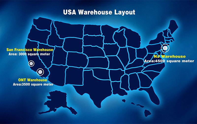 Broken tap remover warehouse in USA