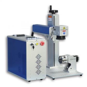 फाइबर लेजर एनग्रेवर फाइबर लेजर मार्किंग मशीन 20W / 30W / 50W