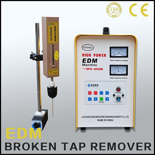 broken tap remover machine